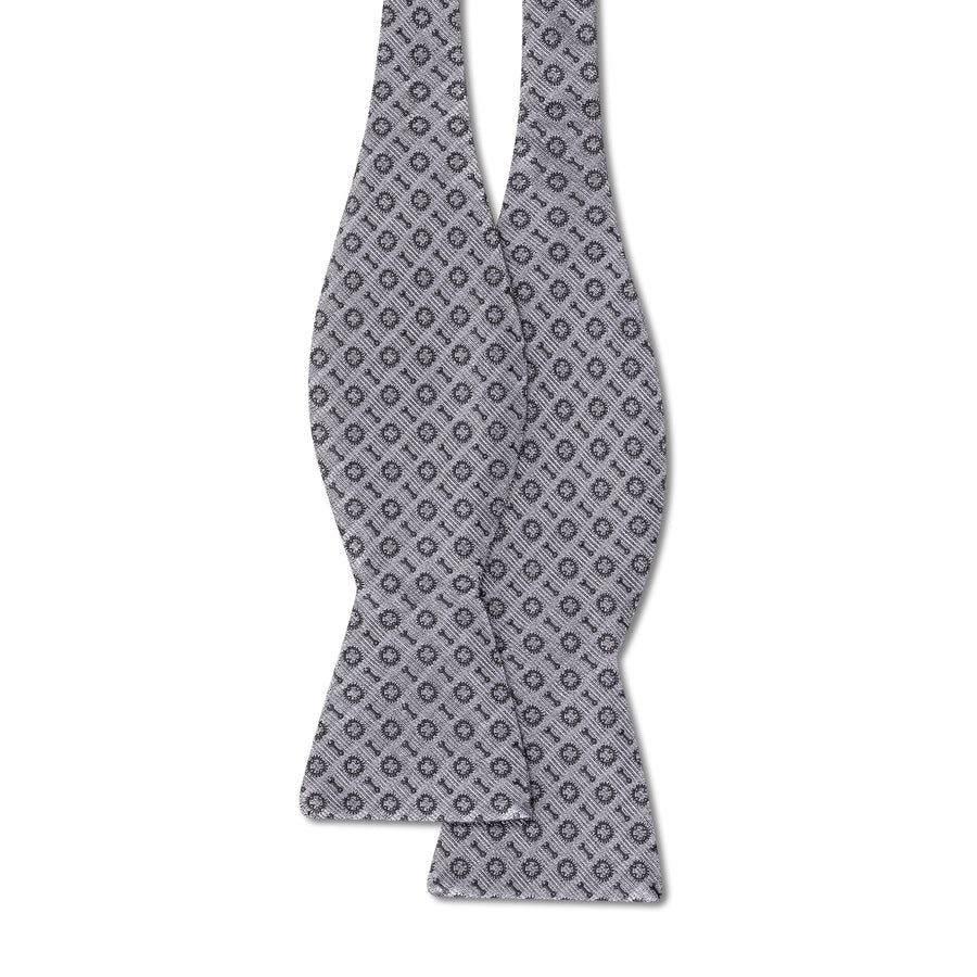 The Bike Bow Tie - Slate Gray