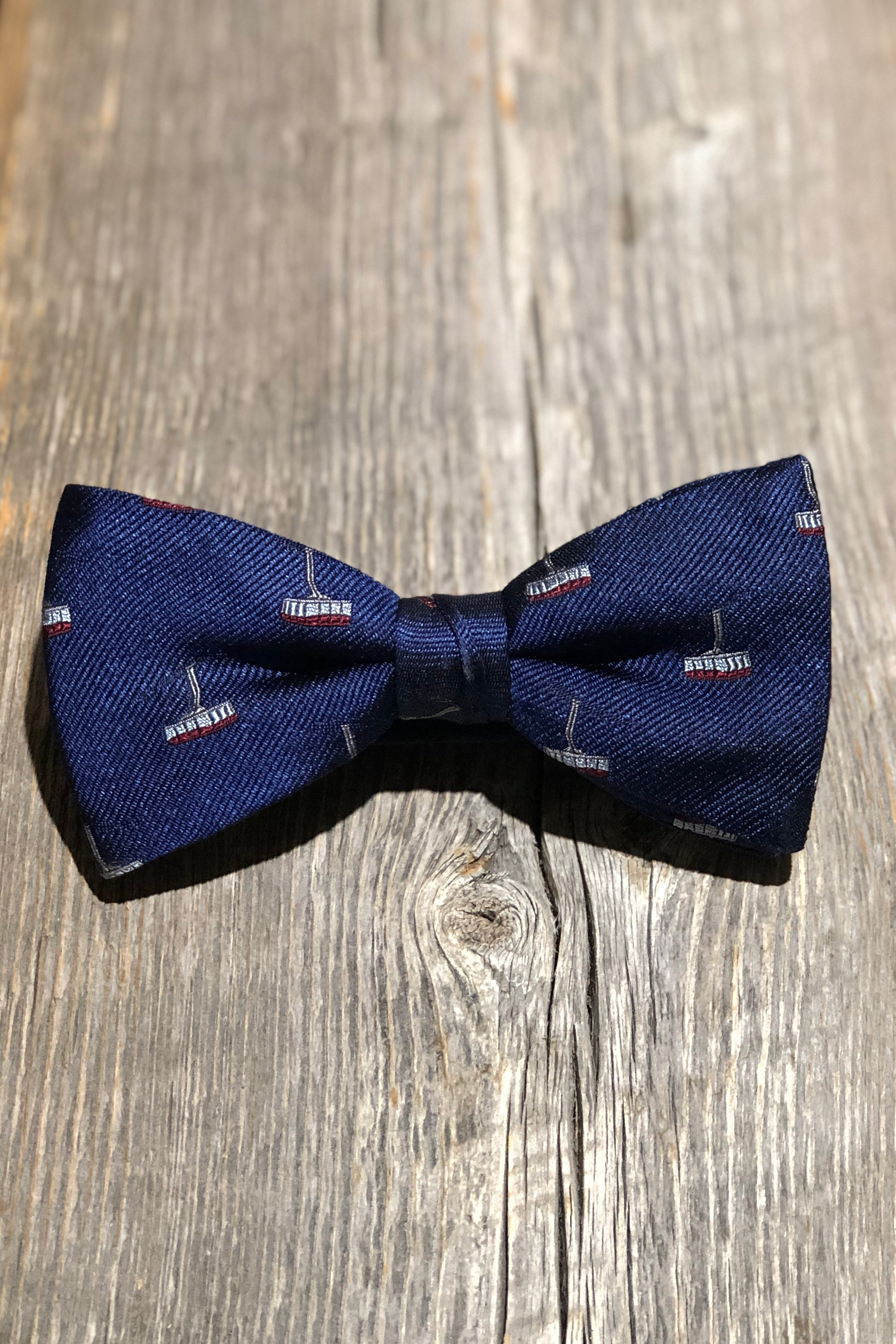 The Tram Bow Tie - Navy