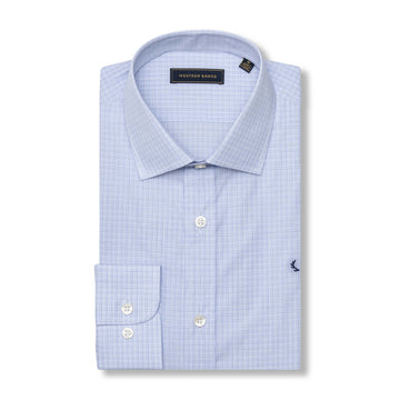 The Rendezvous Dress Shirt in Blue/Navy