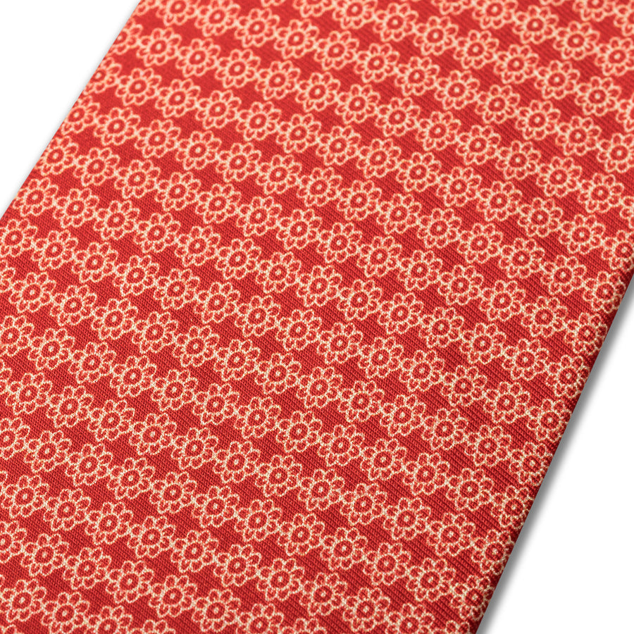 The Vintage Flower Tie - Paintbrush
