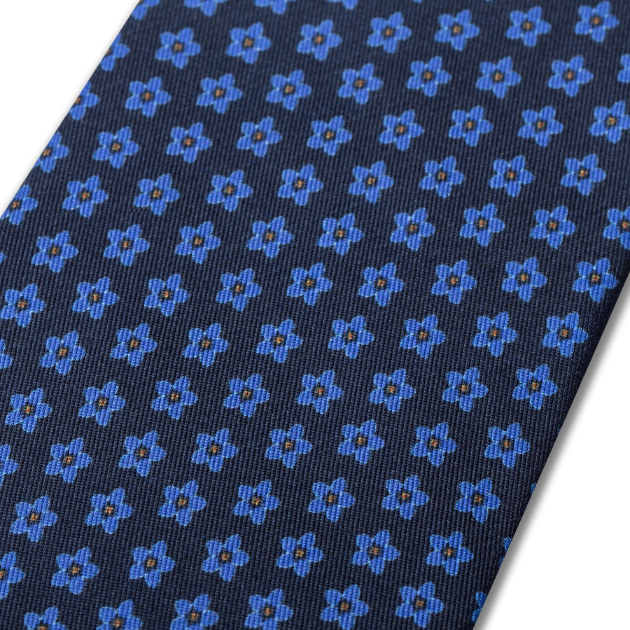 The Cornflower Tie - Navy