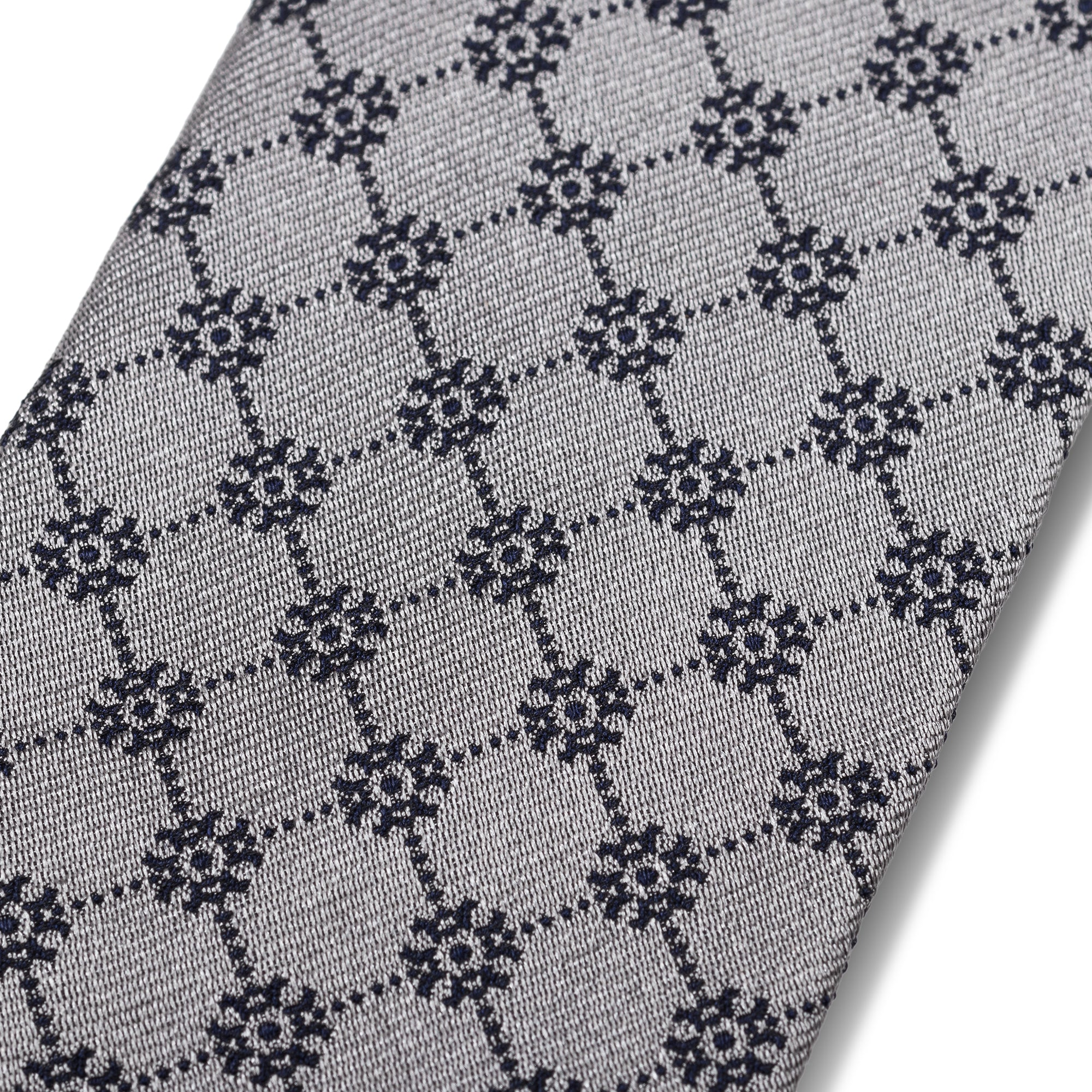 The Antler Snowflake Tie - Gray