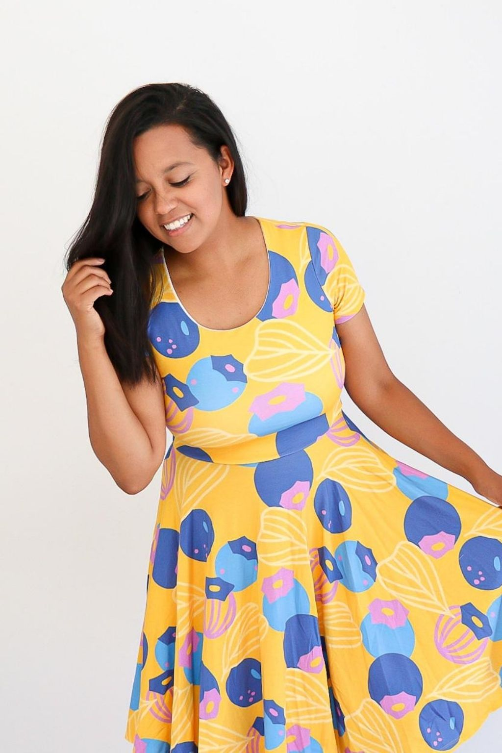 Great Berries Dress in Marigold