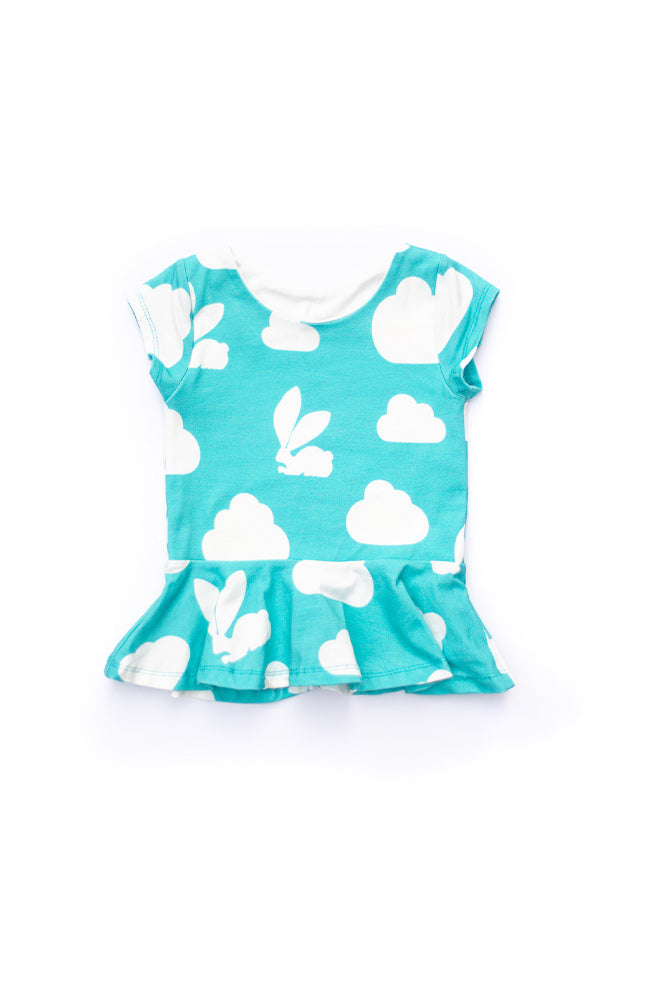 Bunny Cloud Peplum Top