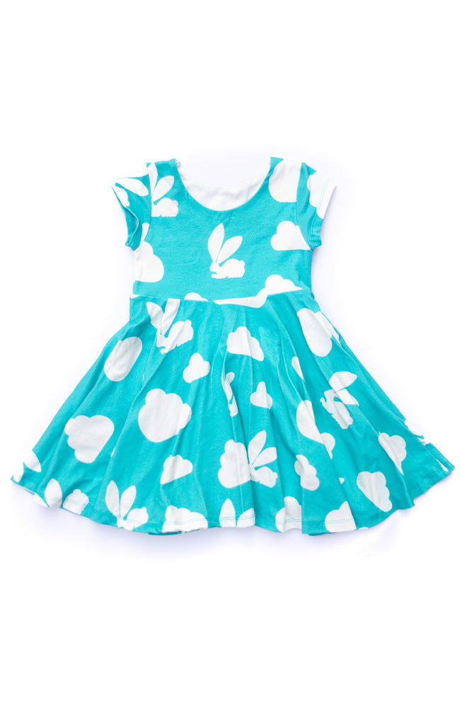 Bunny Cloud Twirl Dress