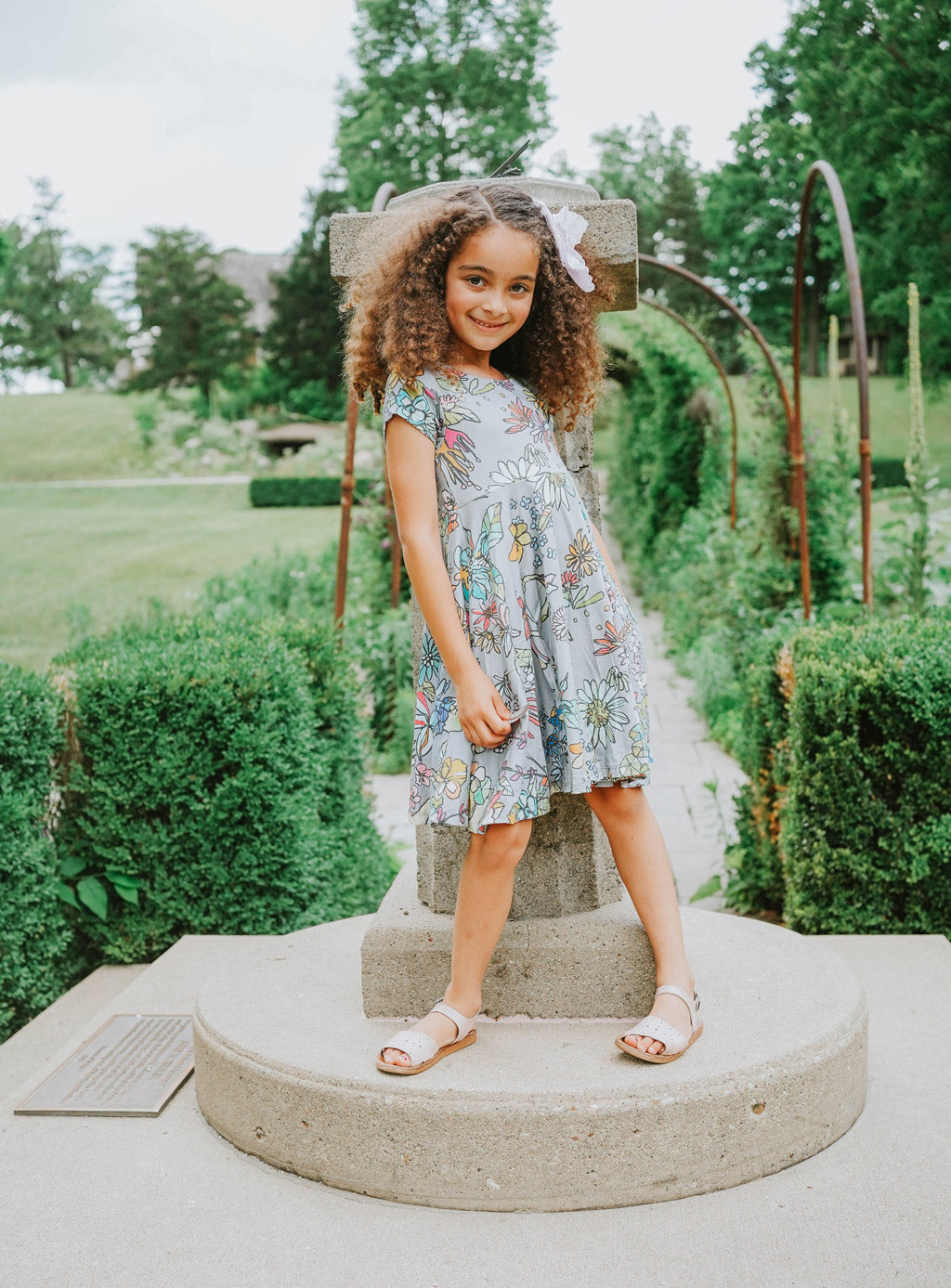 Flora Jardin Twirl Kids Dress