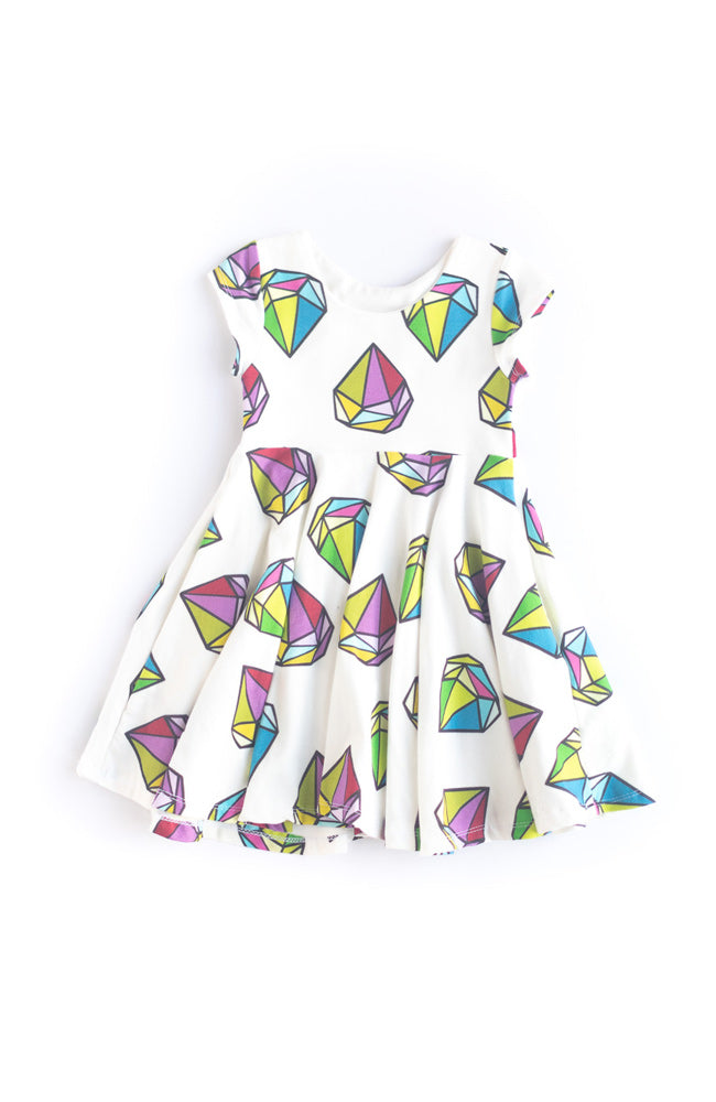 Big Diamond Twirl Dress