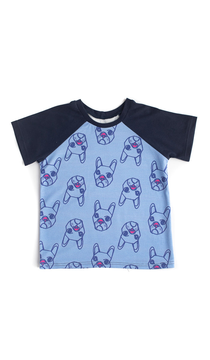 Dogs Raglan Tee - Ready to Ship