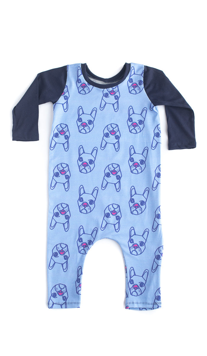 Dogs Baby Romper- Ready to Ship