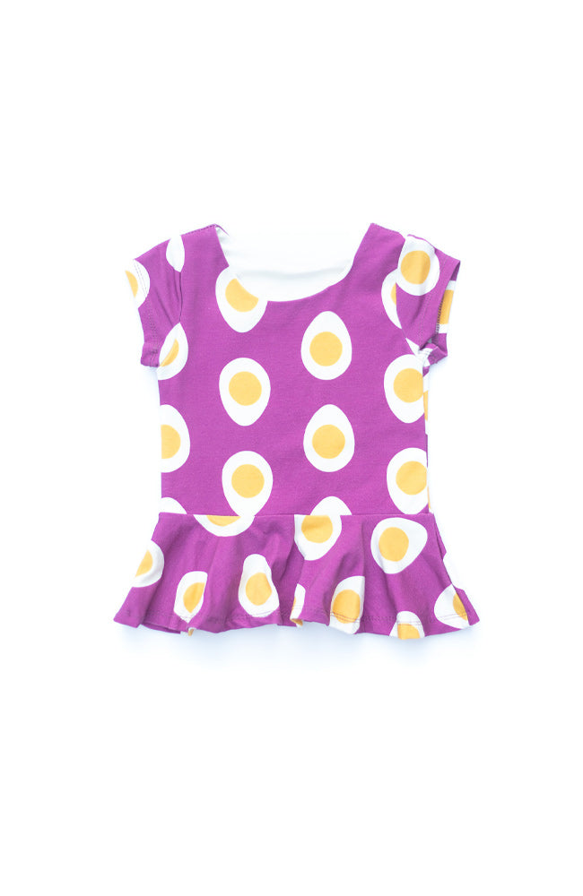 Egg Peplum Top
