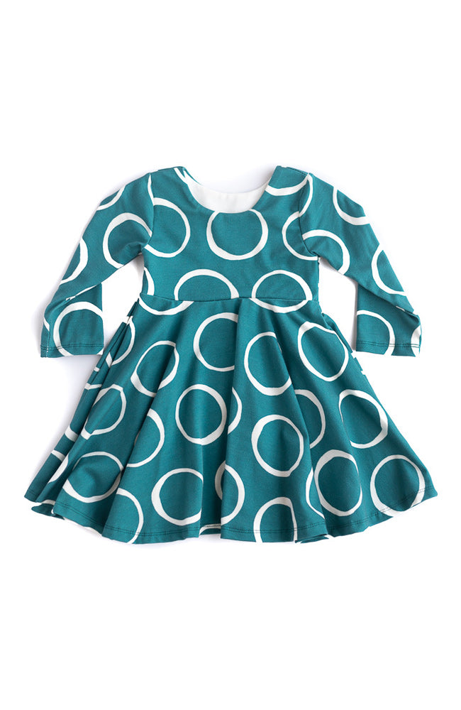 Ring Polka Dot Twirl Dress