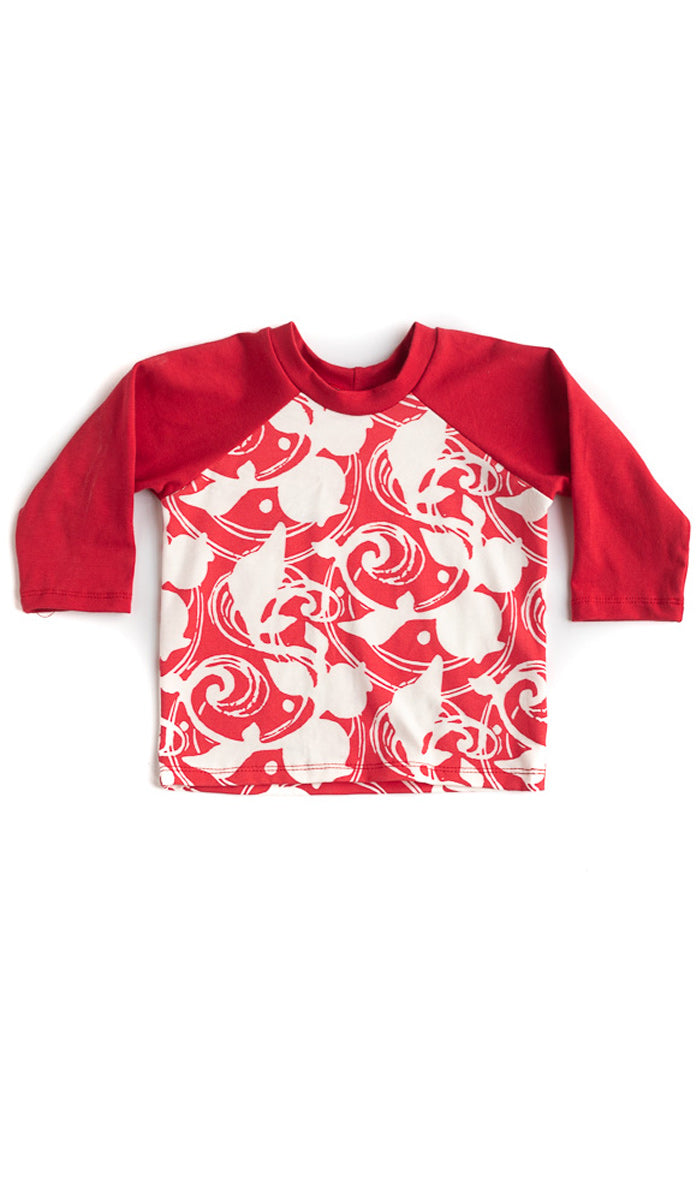 Red Berries Raglan Tee