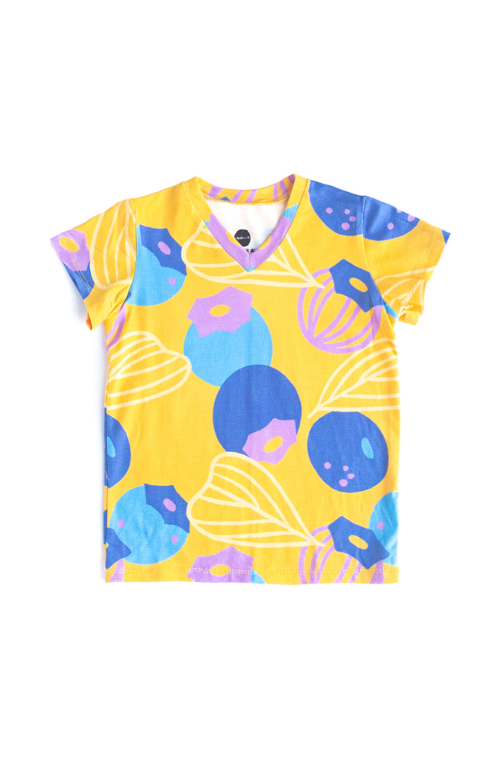 Great Berries Kids Tee in Marigold