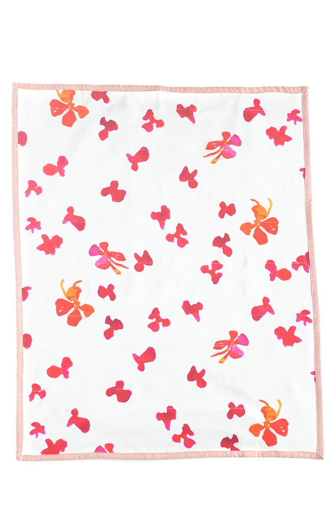 Watercolor Floral Blanket