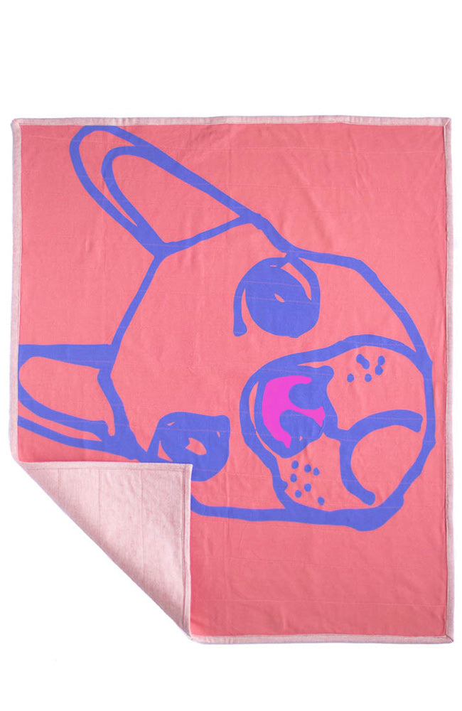 Frenchie Bamboo Blanket