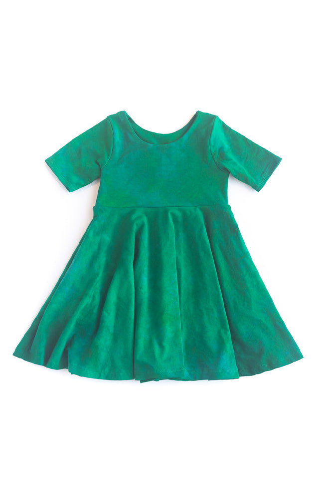 Pine Twirl Dress