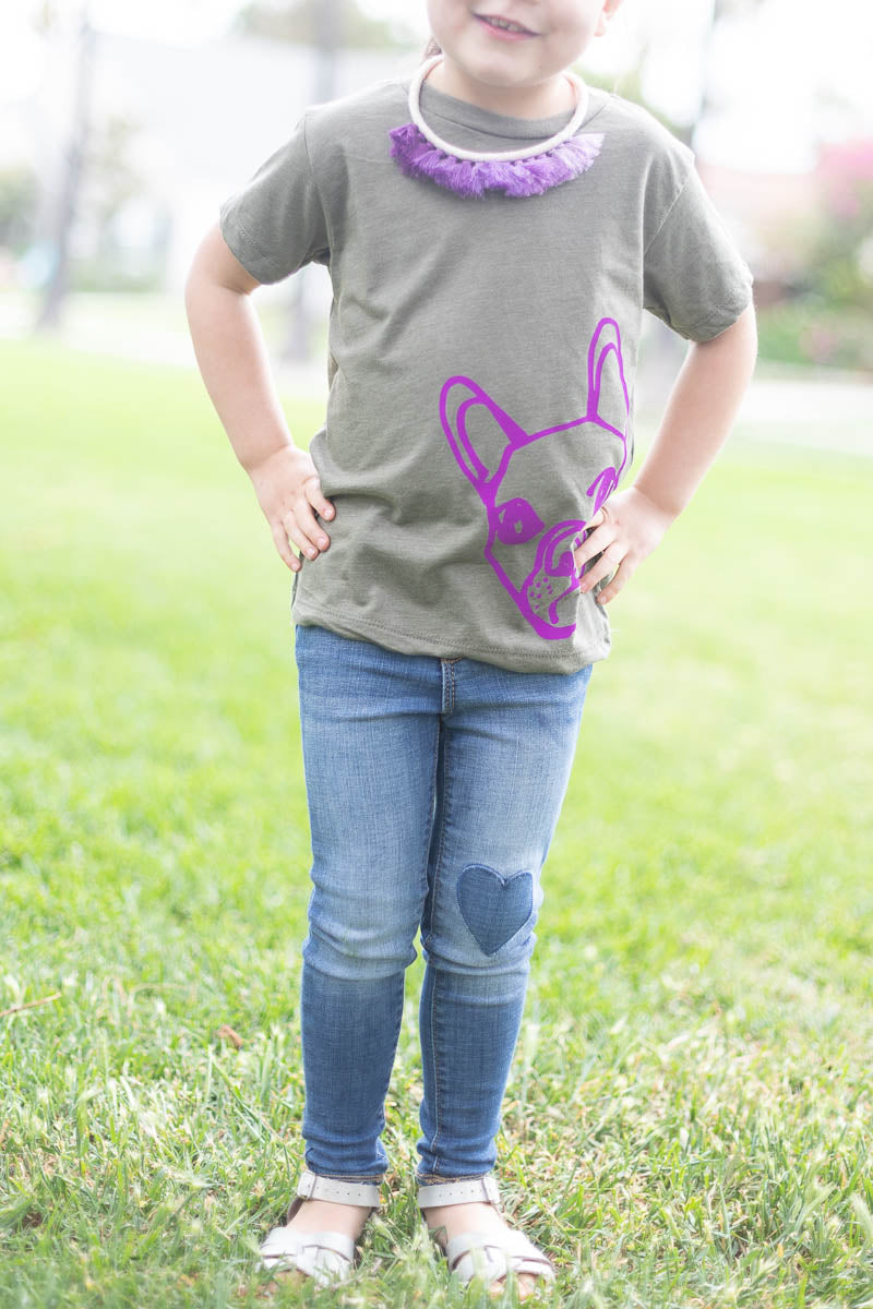 Frenchie Dog Tee