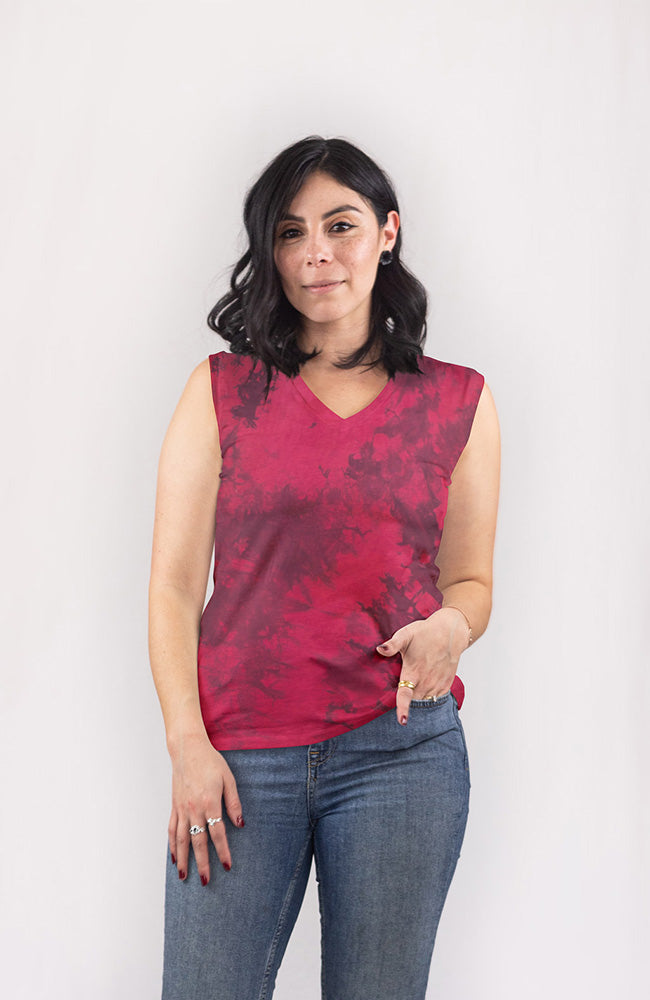 Tee in Pomegranate