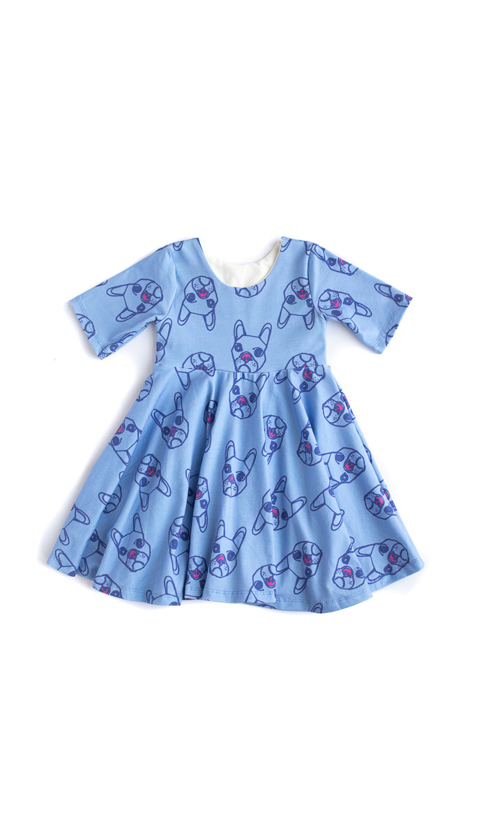 Dogs Twirl Dress - Ready to Ship
