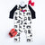 B&W Silly Beasts Baby Romper - Ready to Ship