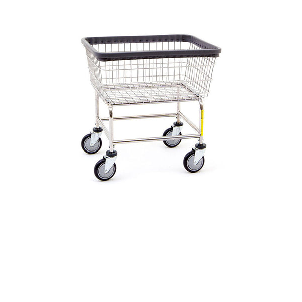 Coin Op Cart And Basket Chrome