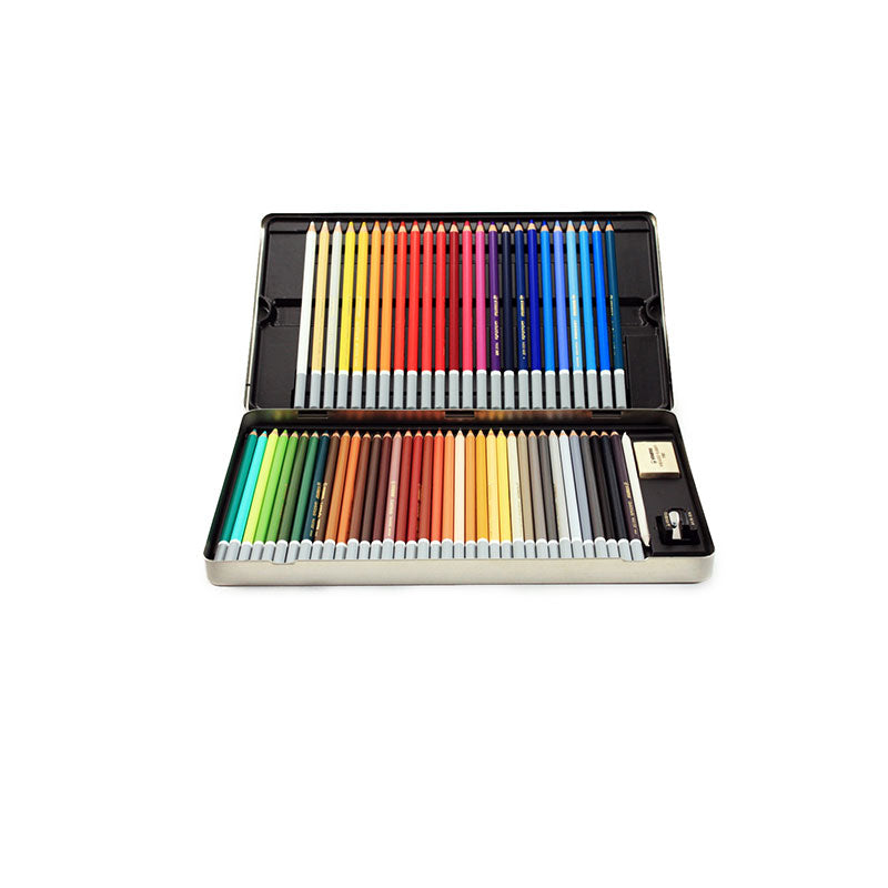 Dye Pencils 60 Pack & Sharpener