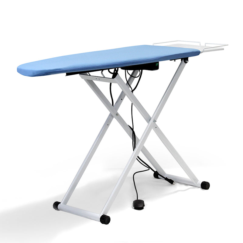 industrial ironing table with vacuum