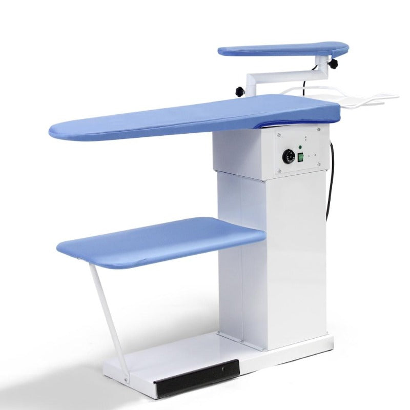 vacuum ironing table with swing arm