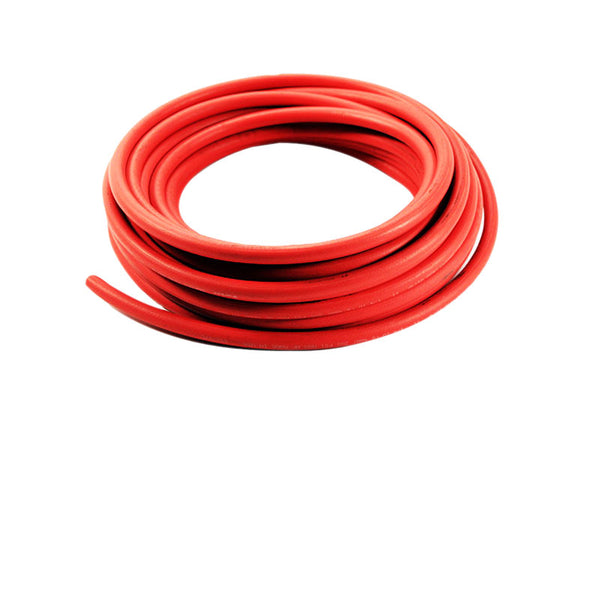 Red Rubber Hose Per Ft