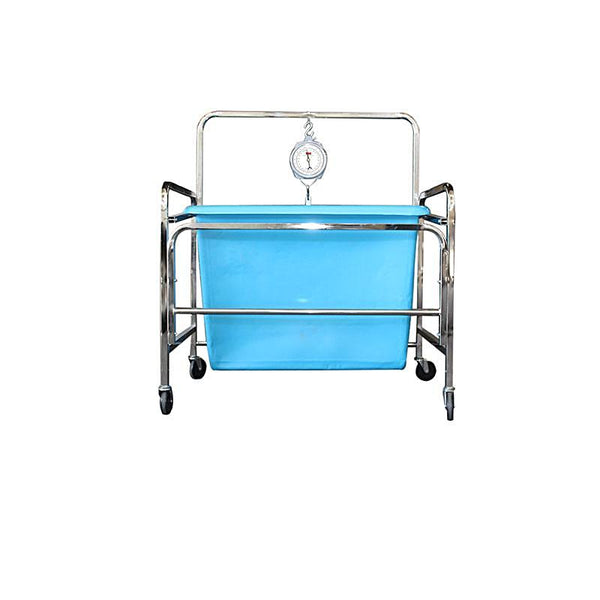 Industrial laundry Scale Cart