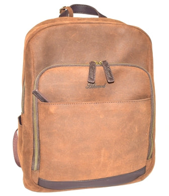 Mud Leather Backpack