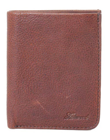 Tan Six Card Leather Wallet
