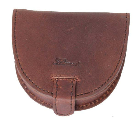 Tan Leather Coin Purse