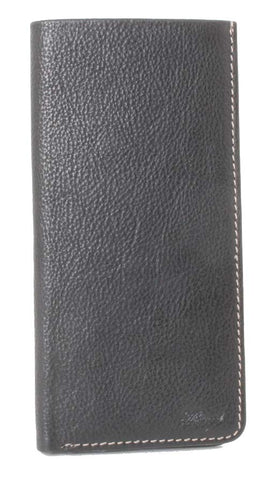 Black Eight Card Leather Wallet