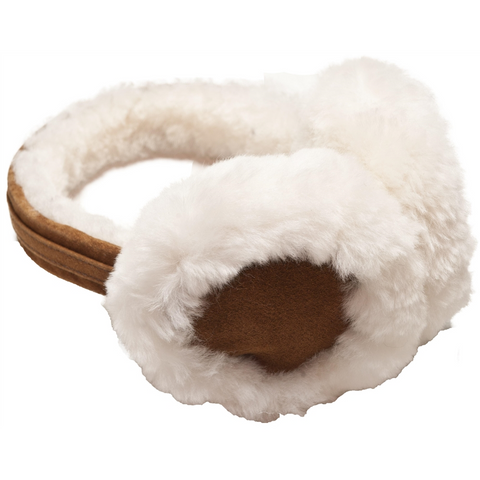 Chestnut Sheepskin Earmuffs