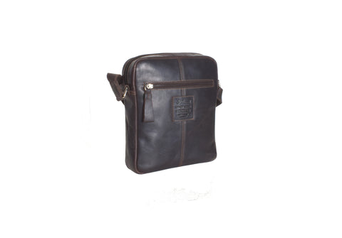 Medium Brown Travel Flight Bag