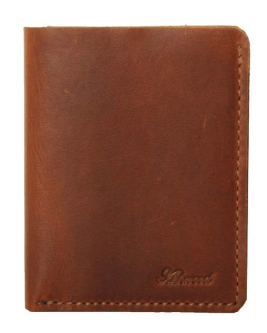 Chestnut Three Card Leather Wallet