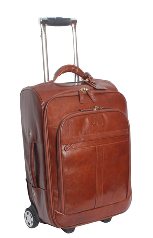 Chestnut Leather Cabin Trolley