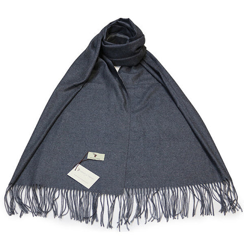 Charcoal Contrast Scarf