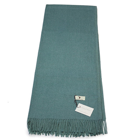 Jade Green Cashmere Feel Scarf- House of Hide UK Ltd