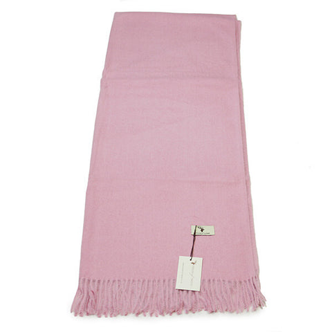 Pink Cashmere Feel Scarf- House of Hide UK Ltd