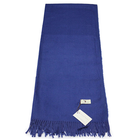 Royal Blue Cashmere Feel Scarf- House of Hide UK Ltd