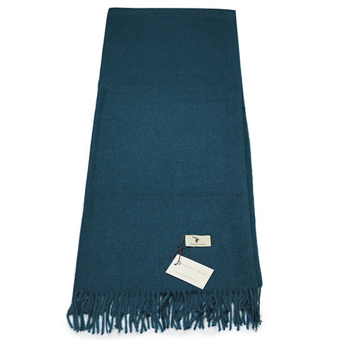 Turquoise Cashmere Feel Scarf- House of Hide UK Ltd