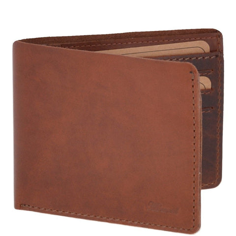 Chestnut Eight Card Leather Wallet