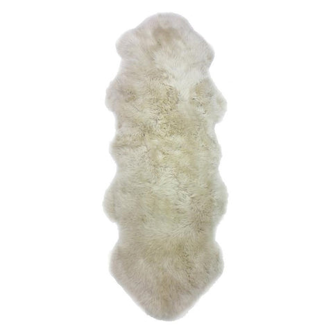 Double Sheepskin Rug - Oyster