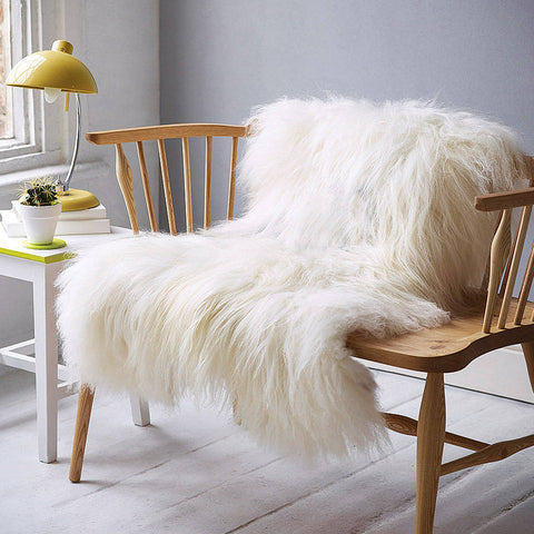 Icelandic Sheepskin - Ivory - House of Hide UK Ltd