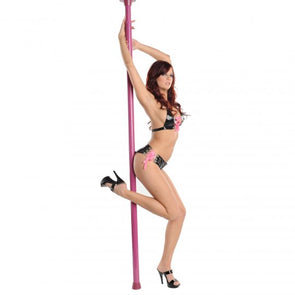 Pink Secret Dancer Pole with DVD - MyPrivateJoy