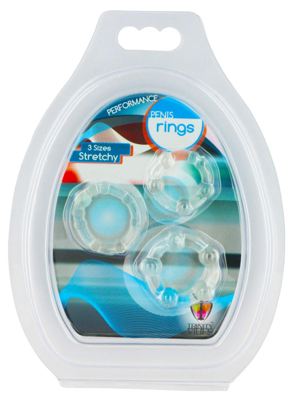 Clear Performance Erection Rings - Packaged - MyPrivateJoy