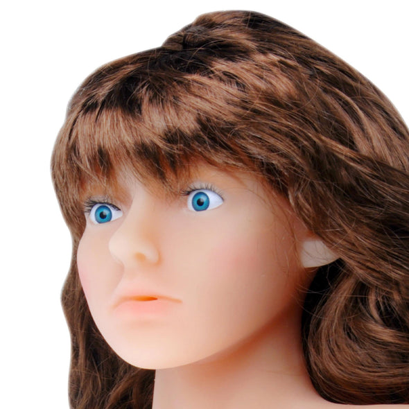 Come On Me Carmen 3D Love Doll with Head - MyPrivateJoy