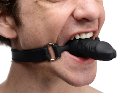 Suppressor Silicone Face Banger Gag - MyPrivateJoy